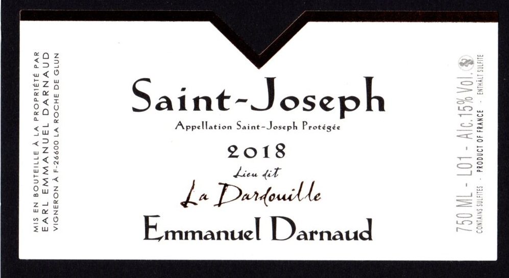 Saint Jospeh Rouge 2018