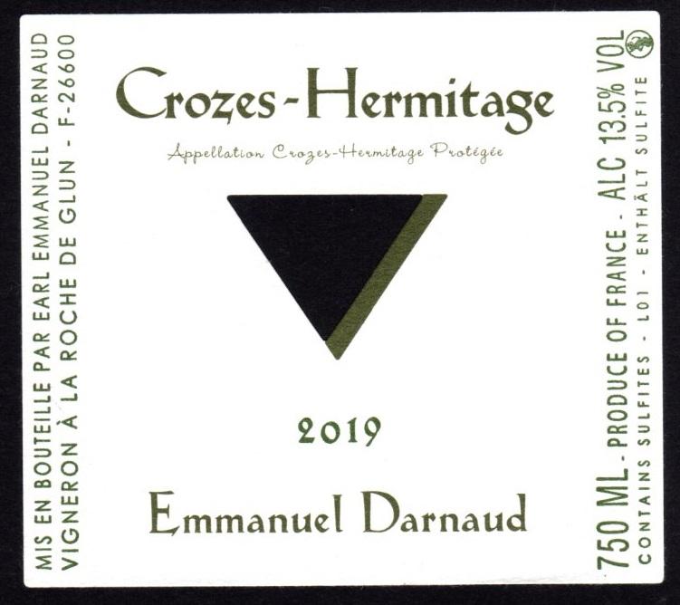 Crozes Hermitage Blanc 2019