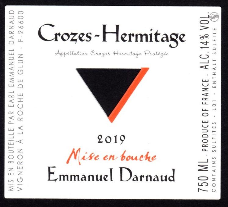 Crozes Hermitage Rouge 2019