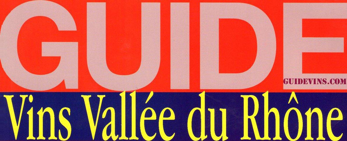 Guide Vins Vallée du Rhône